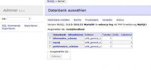 Adminer – Datenbanktool Installation + NginX vHOST einrichten 2/2
