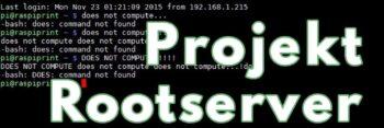 Projekt Rootserver Logo